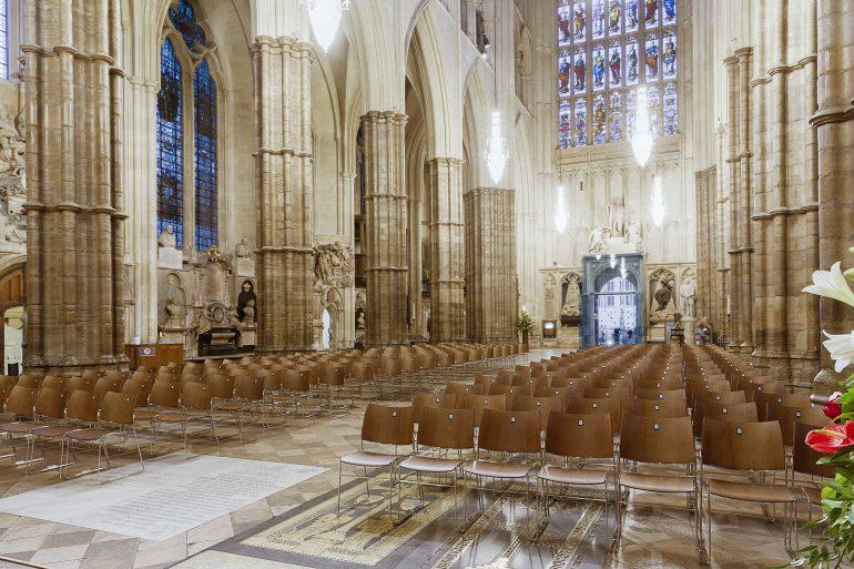 Westminster Abbey ingericht door Casala