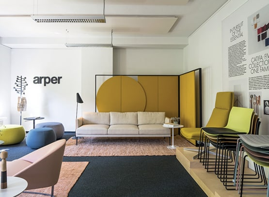 Italian Arper opens third showroom in USA | OfficeRepublic