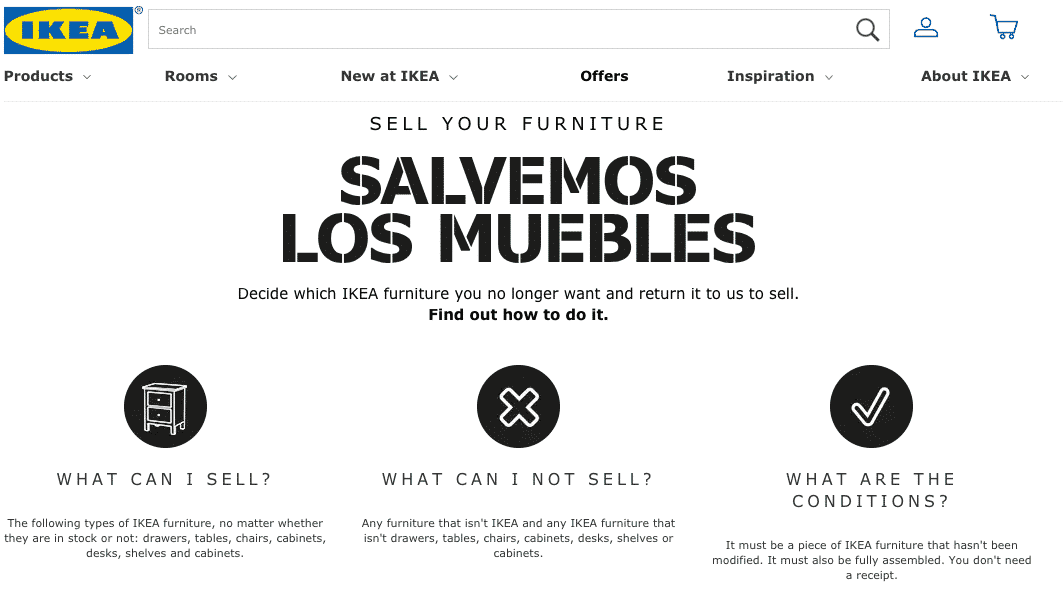 IKEA Canada starts sell back service | OfficeRepublic